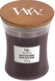 WW Black Plum Cognac Medium Candle