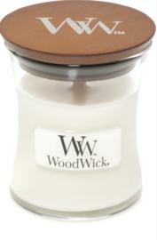 WW White Teak Mini Candle