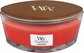 WW Crimson Berries Ellipse Candle