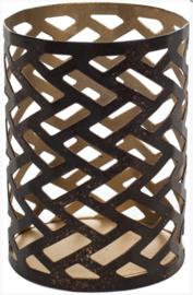 WW Petite Candle holder Herringbone