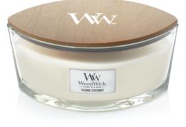WW Island Coconut Ellipse Candle