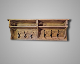 WOODEN WALL STAND 100X20X32 CM