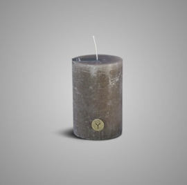 RUSTIC CANDLE BROWN D.10 H.15