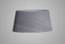 LAMPSHADE OVAL STONE 45X35X22