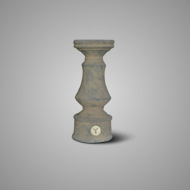CANDLEHOLDER BRYNXZ BOOST OLD BROWN M D.10 H.25