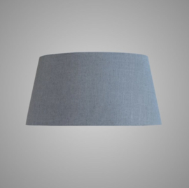 LAMPSHADE OVAL GREY 54x42x26
