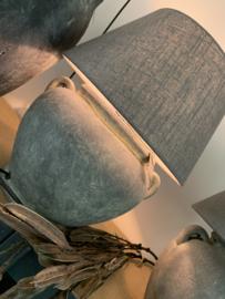 LAMPSHADE DARK GREY 20X30X16