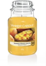 YC Mango Peach Salsa Large Jar
