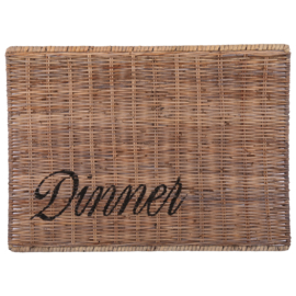 Placemat 'diner'