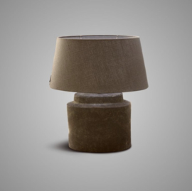LAMP OVAL BASIC OLD BROWN 30x17x26 /BRSE12