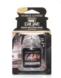 YC Black Coconut Car Jar Ultimate