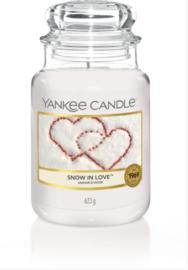 YC Snow In Love Large Jar