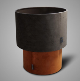 SORT. OF LAMPSHADE CYLINDER GREY D.32 H.21