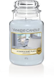 YC A calm and Quiet Place Large Jar
