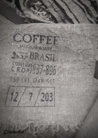 Shabby doek koffie small