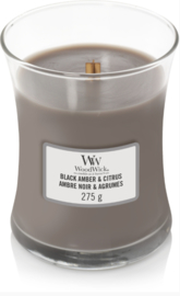 WW Black Amber & Citrus Medium Candle