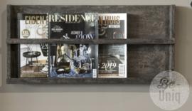 Magazine wandrek | grey finish | India