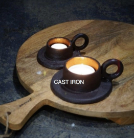 RING HANDLE CANDLE HOLDER D6