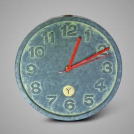 WALL CLOCK MAJESTIC VINTAGE D.28 H.4 zwarte wijzers