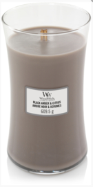 WW Black Amber & Citrus Large Candle