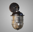 LAMP WALL NOSTALGIC BLACK 28X19X40