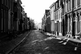 Aluminium Dibond Print 'De Lange Nieuwstraat'