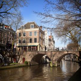 Luxe onderzetter: Zicht op de Gaardbrug