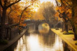 De Geertebrug in de herfst