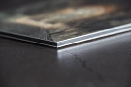 Print 50x75 cm  'Lichte en Donkere Gaard zwart-wit'