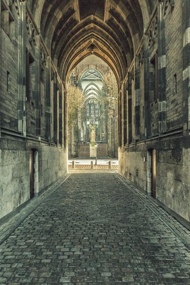 Ansichtkaart: Dom en Domplein
