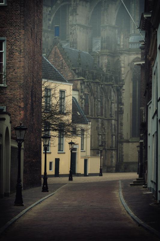 Ansichtkaart: Achter de Dom in Utrecht