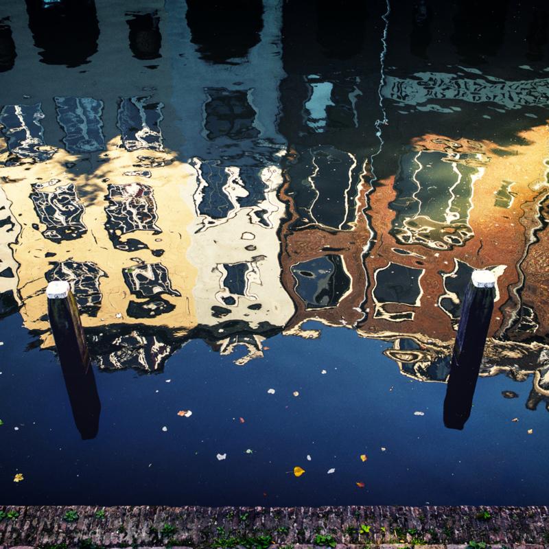 Luxe onderzetter: Reflecties