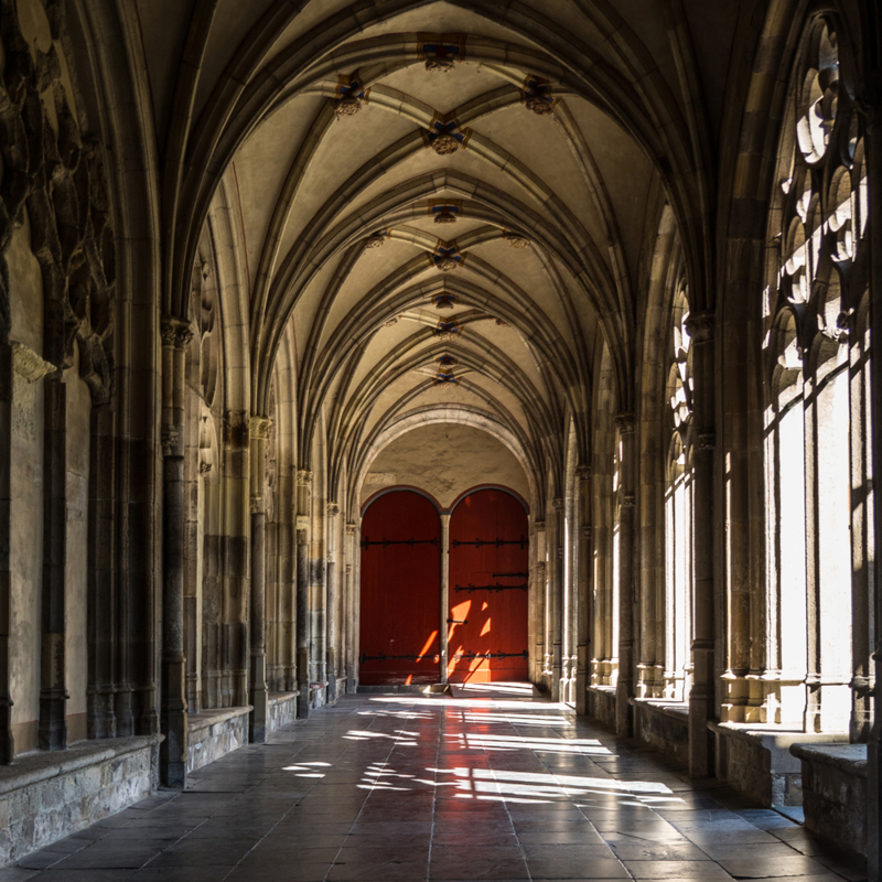 Luxe onderzetter: De Pandhof van de Domkerk