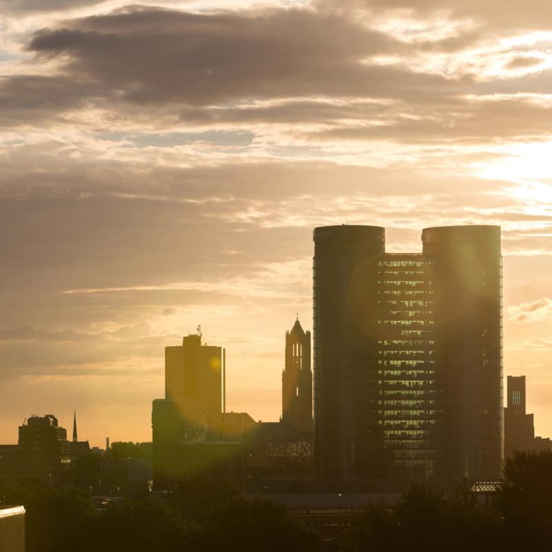 Luxe onderzetter: Skyline Utrecht