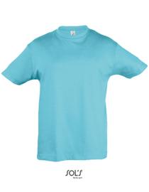 Kinder  T-shirt Sol's met tekst of afbeelding - ronde hals