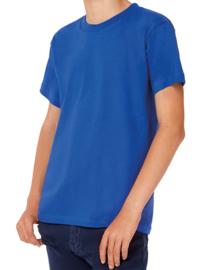 Kinder  T-shirt B&C met tekst of afbeelding - ronde hals