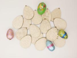 Houten eieren (vol)