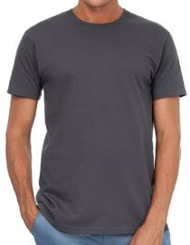 Heren T-shirt B&C met tekst of afbeelding - ronde hals