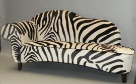 Zebra sofa Verona koeienhuid zebraprint