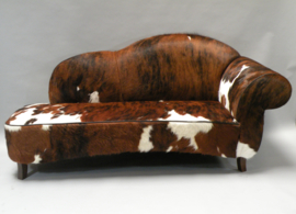 Koeienhuid sofa  Verona tricolor.