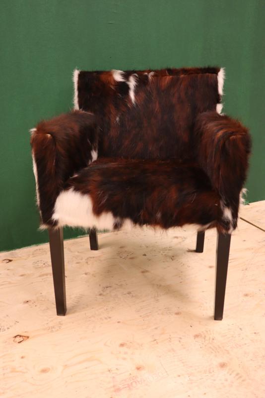 koeienhuid eetkamer stoel tricolor   Eetkamerstoel   Cows & More