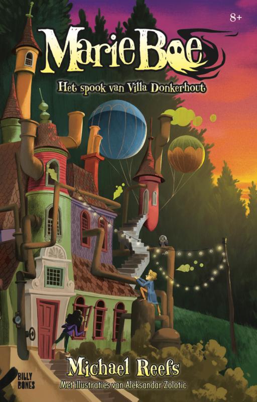 Marie Boe - Het spook van Villa Donkerhout (deel 1)