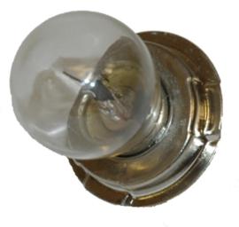 Lamp P26S 12V 20W voor ronde koplamp met groot glas