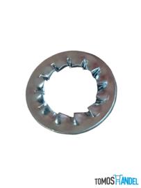 Ring koppeling tandveerring 10mm