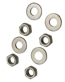 moeren en ringen cilinderkop / tapeinden m7