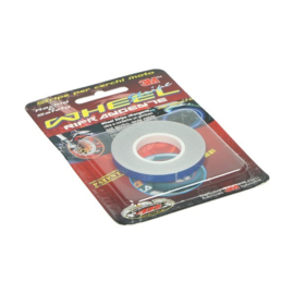 Velglint / velg sticker 5mm 6m lang blauw