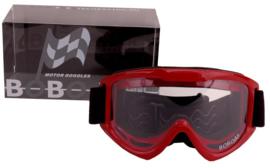 Crossbril BOBO rood