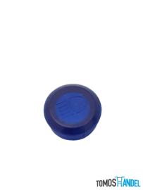 Controle glaasje blauw