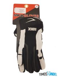 Handschoenen MKX cross brommer zwart/wit