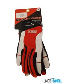 Handschoenen MKX cross brommer rood/wit